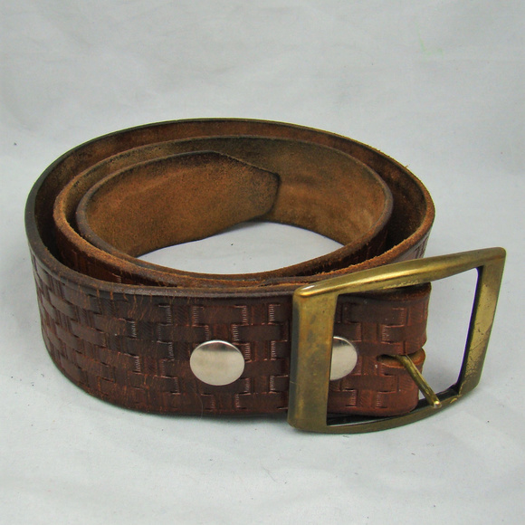 3cc52edf357 Accessories - Leather Vintage 70 s Weave Design Belt